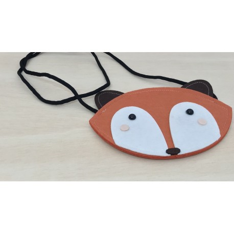 BOLSO MARRÓN ZORRO FOX